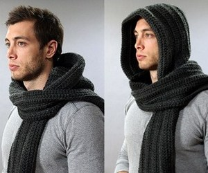 The Santos Hooded Scarf