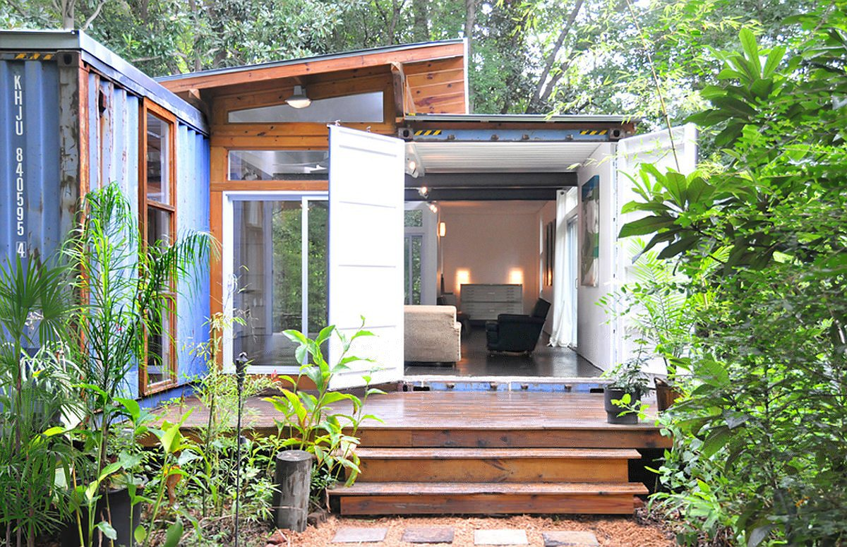 Tiny Home Designs: The Savannah Project Container House By Julio Garcia