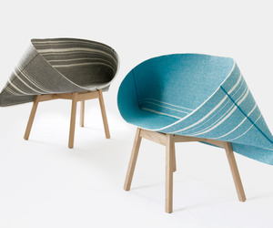 The Selvedge Armchair by Raw Edges