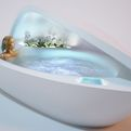 The Shell Bathtub Nestles Your Body | DesignLibero