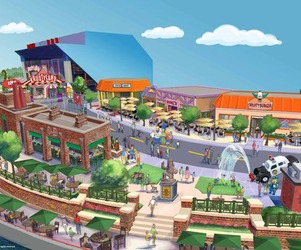 The Simpsons Theme Park Coming to Orlando