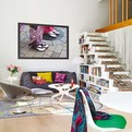 The staircase as a storage space