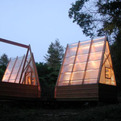 The Swamp Hut by Moscow Linn Architects