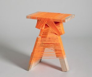 The Thread Wrapped Furniture by Anton Alvares