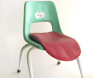 The Tongue Chair by Wary Meyers
