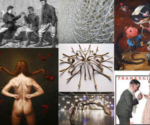 The Turkey Wishbone and Art It Has Inspired