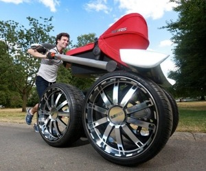 The Ultimate Baby Stroller for Men