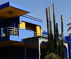 The Unique Blue of Majorelle Garden