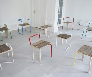 The V&A Chair Series by Tomas Alonso