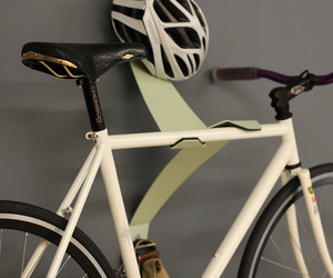 The Valet, Unique Bicycle Storage System by Reclamation Art