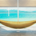 The Vessel Hammock Bathtub