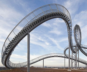 The Walkable Mountain Rollercoaster Stairs