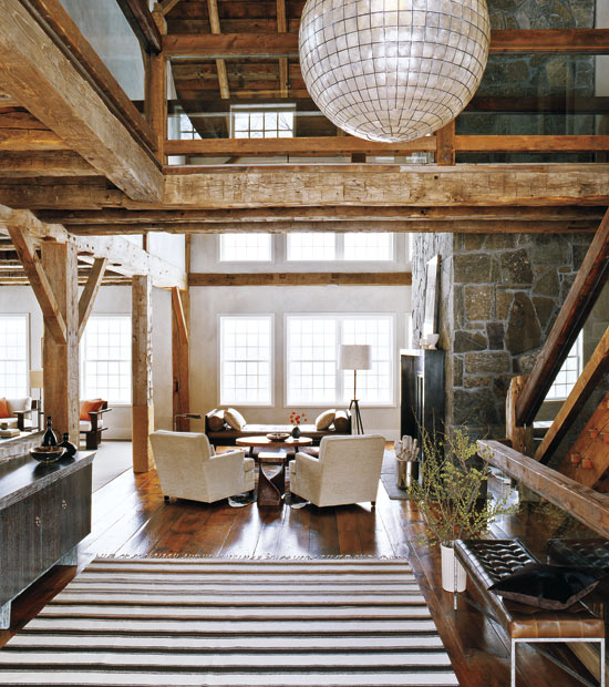 the washington house barn conversion by russel groves. Black Bedroom Furniture Sets. Home Design Ideas