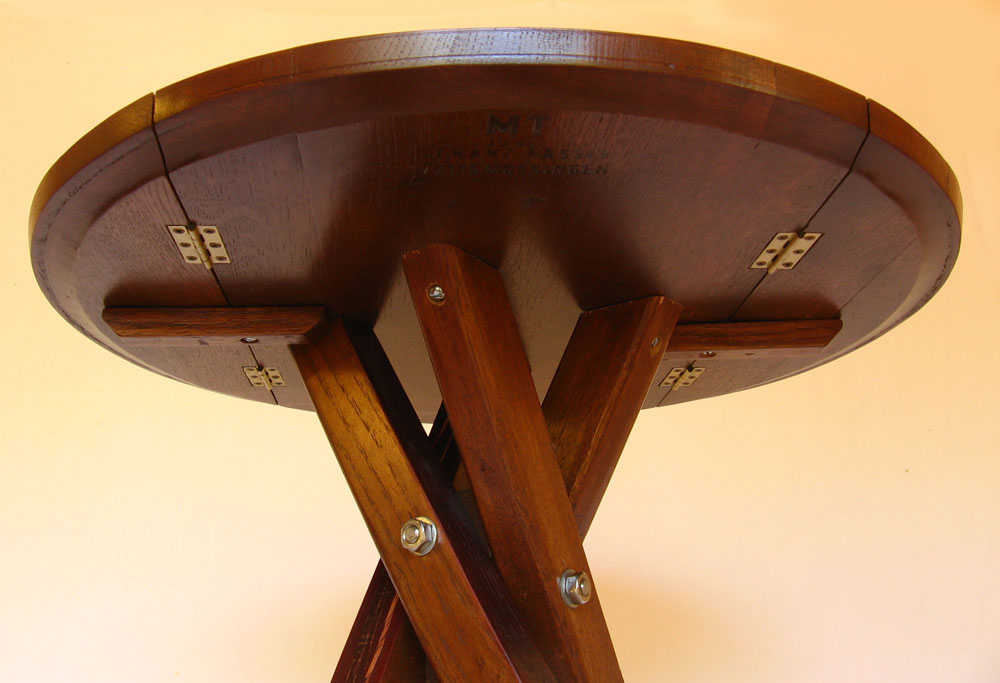 The windmill drop leaf bistro table recycled wine barrel