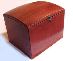 The Wish Box, recycled oak wine barrel