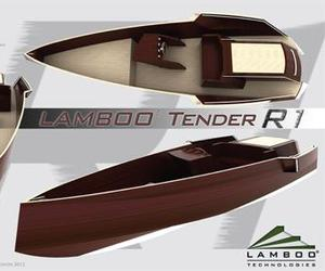 The World's First Bamboo Tender! | Sigmund Yacht Design