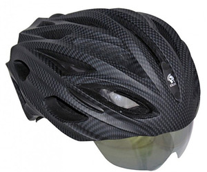 The World's First Bike Helmet With Retractable Lens