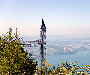 The World's Tallest Outdoor Elevator