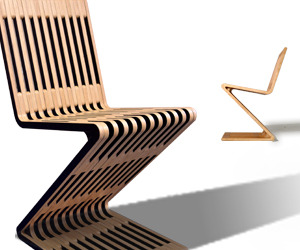 The Zag Zig Chair by Möbel Link