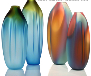 These Drape Vases are both hot and cool