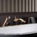 THG Bagatelle Washbasin Faucet in Black Obsidian