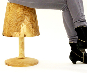 This Is Not A Lamp Stool by Florian Kallus