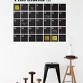 This Month Calendar, Wall Sticker by Ferm Living