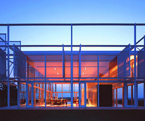 Thomas Phifer's Modern Steel and Glass Taghkanic House
