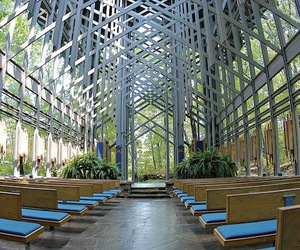 Thorncrown Chapel by Fay Jones