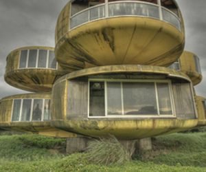 Those UFO houses. Finally, an explanation!