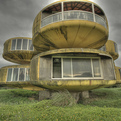 Those UFO houses. Finally, an explanation!