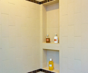 Tile Shower Niche Installation