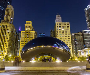 Time Lapse Photos of Chicago
