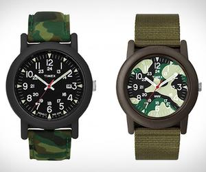 Timex Camper Camouflage