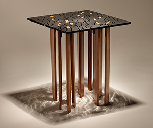 TIND: eco-friendly End Table by FINNE Architects