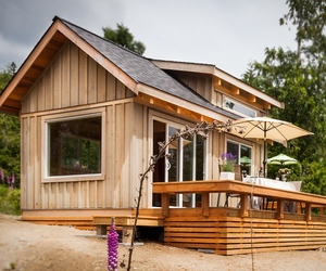 Tiny Getaway Cabin by Click Modular Homes