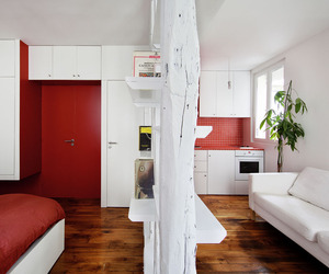 Tiny Mini Apartment in Montmartre