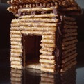 Tiny Modern Gingerbread House