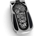 Titanium Mobile Phone & Tourbillon Watch in One