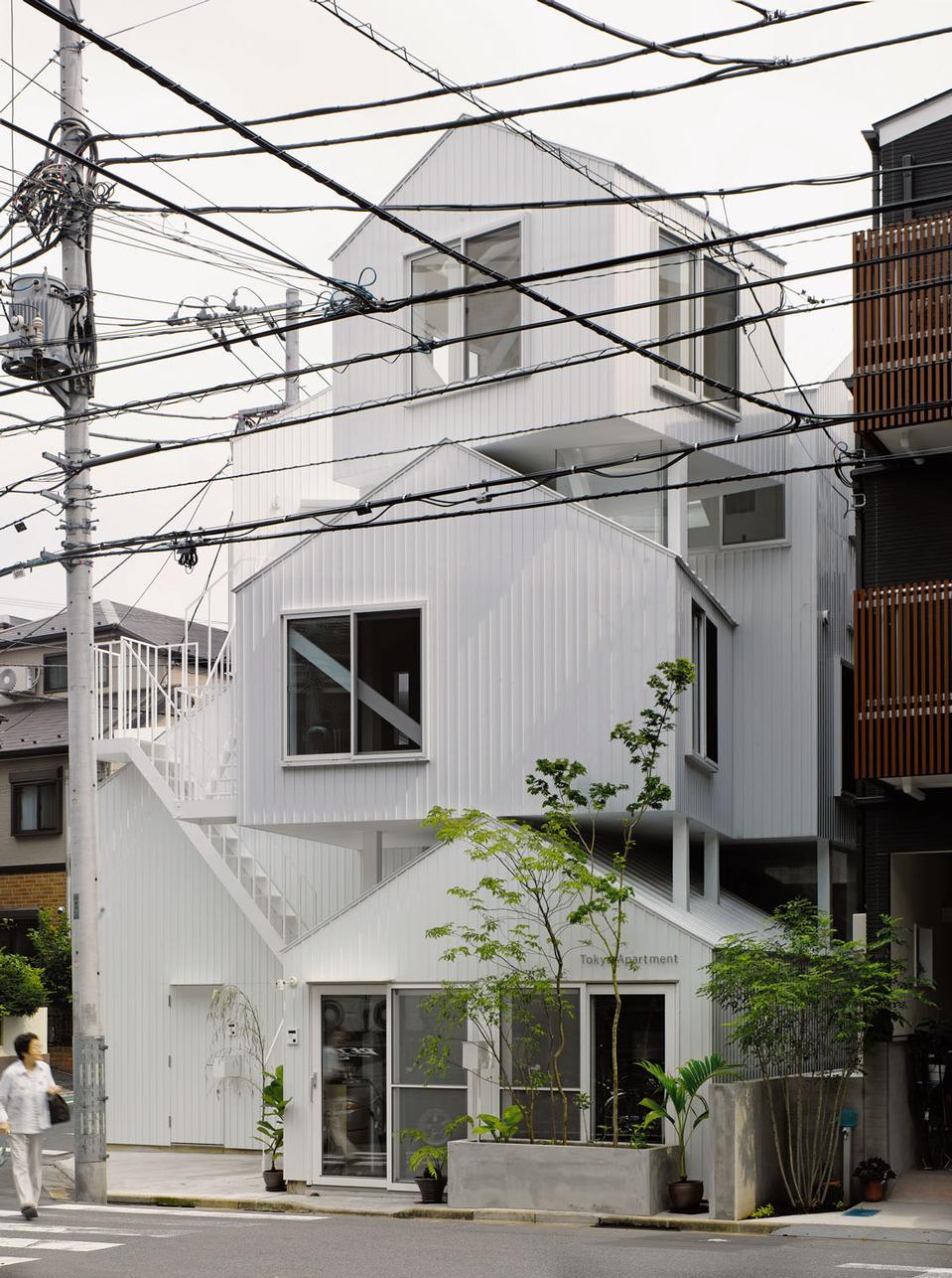 Tokyo apartment by sou fujimoto architects for O house sou fujimoto