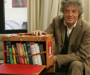Tom Stoppard's Traveling Bookcase