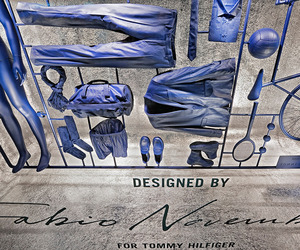 Tommy Hilfiger windows at La Rinascente by Fabio Novembre