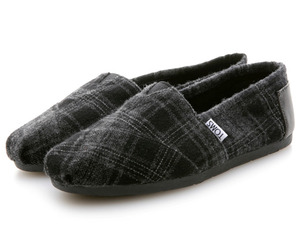 Toms Cashmere Shoe Collection