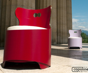 Tonda armchair by Capolinea Design