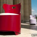 Tonda armchair by Capolinea Design
