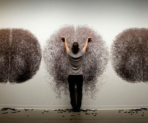 Tony Orrico's Drawing Performance