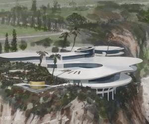 Tony Stark's House from Iron Man
