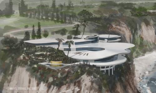 Tony Stark S House From Iron Man