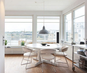 Top Floor with a Garage in Stockholm