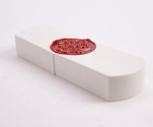 Top Secret Porcelain Sealed 8G USB Drive